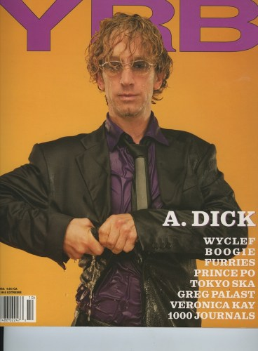 Issue 45 Extream Andy Dick - Print Magazine Covers 1999-2018