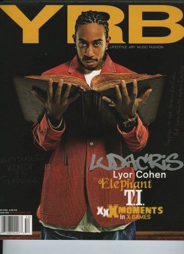 Issue 52 March April 2005 Ludacris  - Print Magazine Covers 1999-2018