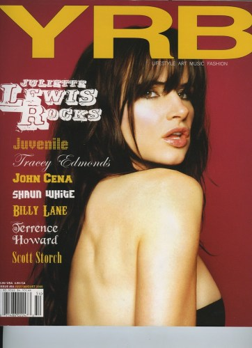 Issue 54 July August 2005 Juliette Lewis - Print Magazine Covers 1999-2018