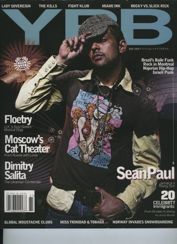 Issue 61 Local Global Sean Paul - Print Magazine Covers 1999-2018
