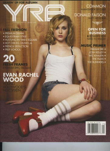 Issue 75 Fall Issue Evan Rachel Wood - Print Magazine Covers 1999-2018
