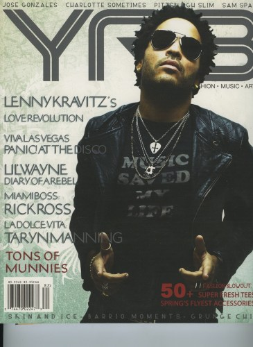 Issue 82 The Fashion Issue Lenny Kravitz - Print Magazine Covers 1999-2018