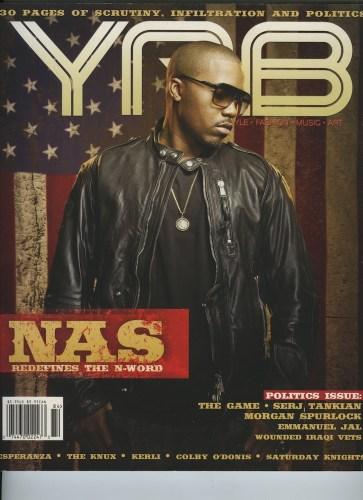 Issue 84Politics Issue Nas - Print Magazine Covers 1999-2020