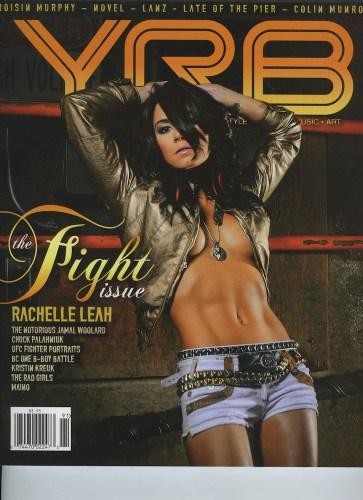 Issue 91Fight Issue Rachelle Leah - Print Magazine Covers 1999-2018