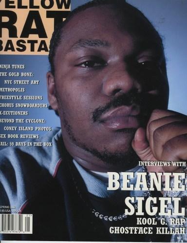 Spring 2002 Beanie Sigel - Print Magazine Covers 1999-2018