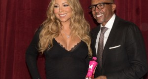 "MC LAUNCH  - Event Recap @MARIAHCAREY announced  launch of Her GO N'SYDE BOTTLE ""BUTTERFLY"" with Creative Director @KEVINLILES"