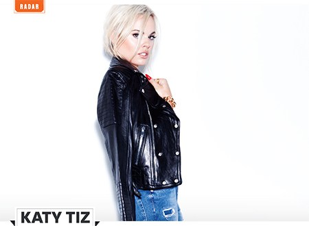 Katy Tiz - RADAR: Katy Tiz @KatyTiz by @JonathanValdez