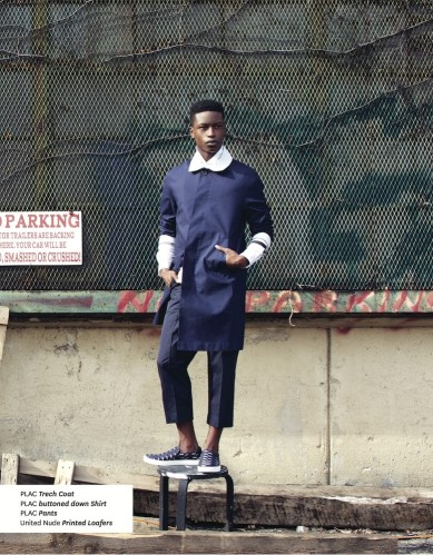 t3 - In the Trenches with Nam @namgarsinii @dariusbaptist @TheLucioCastro @CarlosCamposNYC @plac_jeans @AkooClothing #fashion #ss2016 #trenchcoats