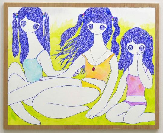 unnamed 43 540x441 - Hiromi Machida Wind in Eyes Exhibit  June 1 - June 30, 2016 @maccchi0462 @AboutGlamourinc