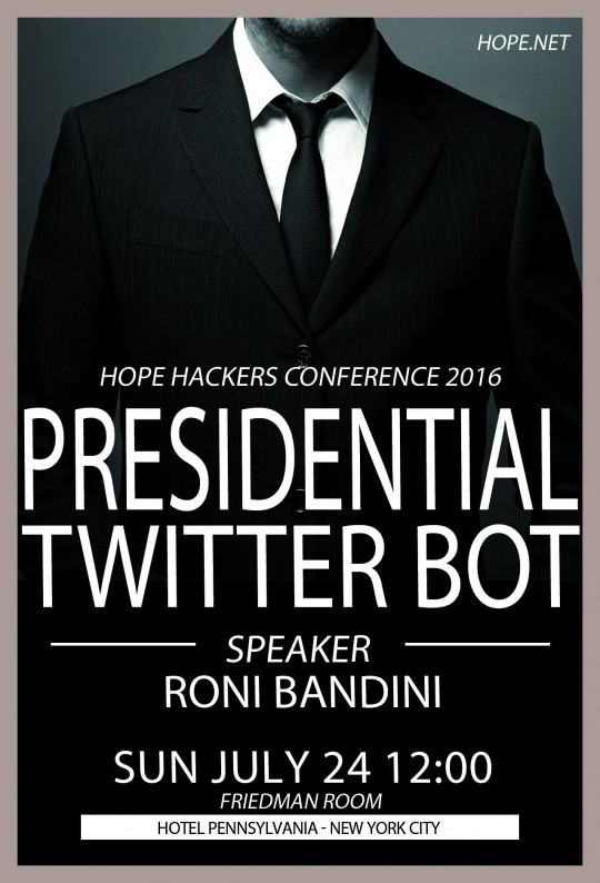 Cl kGclWYAAiKFO 540x794 - The Eleventh HOPE @2600 @hopeconf @emmangoldstein #hacking #technology #nyc