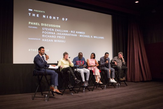 "TE HBO TheNightOf 84 540x360 - Event Recap: HBO ""The Night Of"" Screening & Panel with Riz Ahmed and Michael K. Williams @hasanminhaj @rizmc @BKBMG #TheNightOf @HBO"