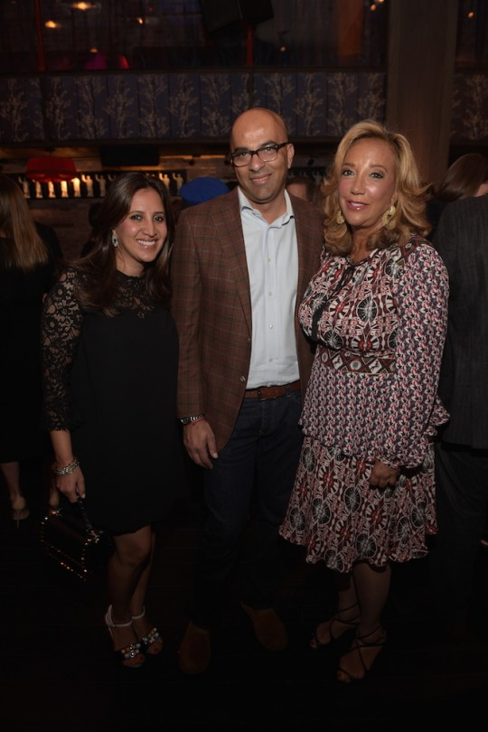 Amrita Singh Sam Bhatia Denise Rich 540x810 - Event Recap: Gabrielle's Angel Foundation The Angel Ball Launch @CureCancerNow @ManhattanHooch