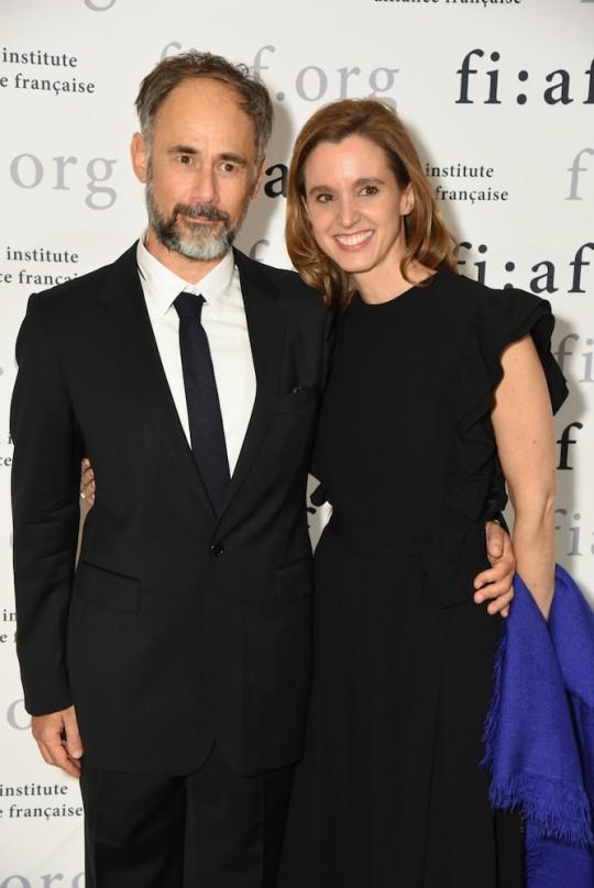12 Jerome BEL and Lili CHOPRA 540x808 - Event Recap: Jeff Koons and Jean-Paul Agon honored at FIAF's Trophée des Arts Gala @FIAFNY #JeanPaulAgon @JeffKoons
