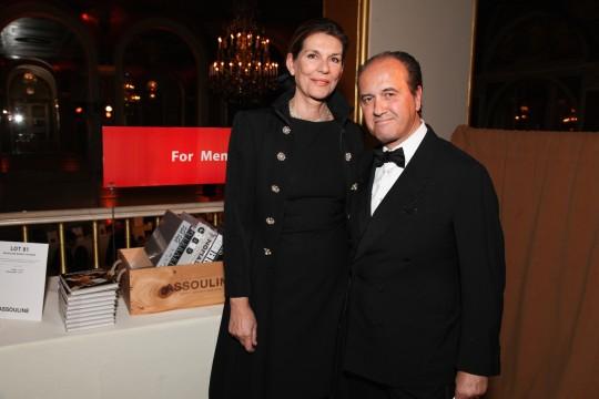 Martine and Prosper ASSOULINE 540x360 - Event Recap: Jeff Koons and Jean-Paul Agon honored at FIAF's Trophée des Arts Gala @FIAFNY #JeanPaulAgon @JeffKoons