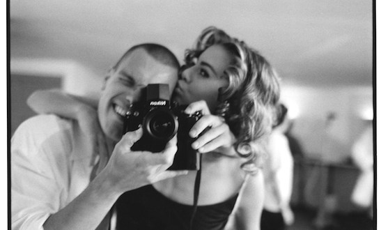 Patrik Andersson self portrait with Niki Taylor on a shoot for British Vogue - Feature: Patrik Andersson Interview by Brana Dane @individualeye @dane_brana