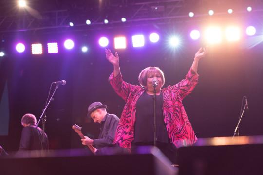 Mavis Staples 5 540x360 - Event Recap: Mavis Staples and Toshi Reagon at Summerstage @mavisstaples @biglovely1 @summerstage
