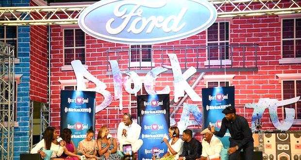 Cast of Girs Trip Onstage - Event Recap: Ford Celebrates July Fourth Weekend at 2017 ESSENCE Festival @essencefest #MyFordFam #ESSENCEFest