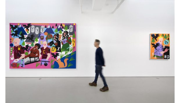 NCA Seized the Imagination site 5 920x526 - Nina Chanel Abney Exhibition:  Seized The Imagination November 9—December 20, 2017 @ninachanel @JackShainman