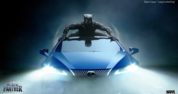 Lexus Black Panther 03 AF3F329E9C4194FDE773019B17C1E84B317EF580 - How Lexus Gave Black Panther A Ride Fit For A King @theblackpanther @lexus @marvel