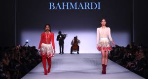 Bahmardi Style FWNY FW18 Watermark 18 of 26 preview - Bahmardi FW18 @BahmardiCouture @Stylefw #nyfw #couture