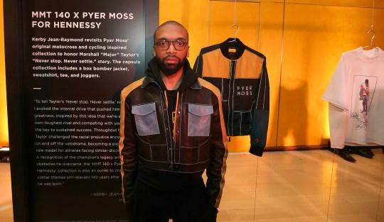 "Kerby x Pyer Moss 540x313 - Event Recap: A ""Major"" Premier by Hennessy @hennessyus @ayesuppose @nigelsylvester @KadirNelson @pyermoss #MarshallMajorTaylor"