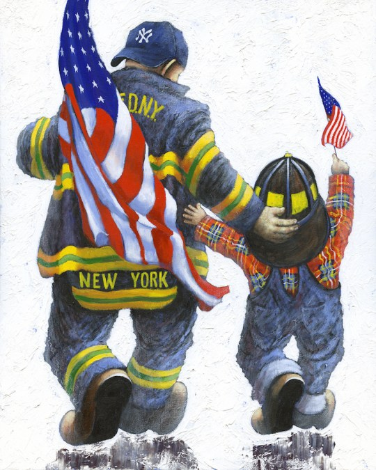 We Could Be Heroes 540x675 - Alexander Millar's Everyday Heroes Exhibition and Pop-Up Gallery April 4 - 20th, 2018 @vscorresponding @FDNYMuseum @AlexanderMillar @FDNY