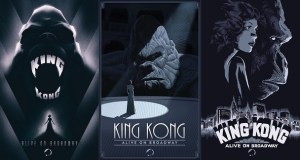 kingkongbway - Broadway's King Kong reveals new poster art by Laurent Durieux, Francesco Francavilla and Olly Moss. @f_francavilla @ollymoss @Freecomicbook #fcbd #KingKong