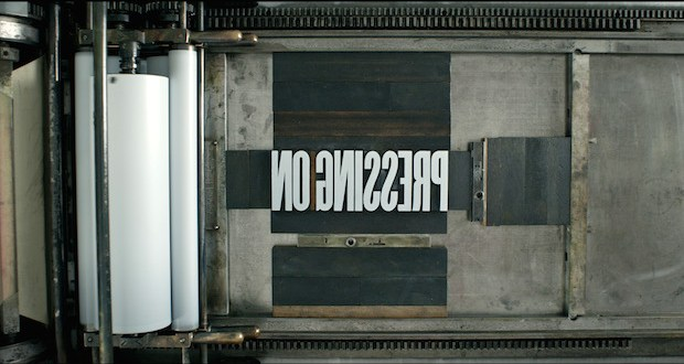 PressingOnMainTitle - PRESSING ON: The Letterpress Film - Trailer @letterpressfilm #letterpressfilm