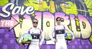 1 Drivers Sam Bird and Alex Lynn - Event Recap: Art Goes Green Event with @Kaspersky Lab @DSVirginRacing @DFaceOfficial at The @newmuseum @alexlynnracing @sambirdracing #FormulaE #NYCEPrix