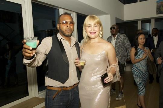 IMG 5042 540x360 - Event Recap: Fashion's Night IN 2: Official #NYFW kickoff @DouglasElliman @sotosake @AShineandCo #fashionsnightin #135west52nd #treffortshirts