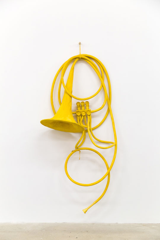 Oldenburg Van Bruggen – Soft French Horn Unwound 2002 – Image 1 – LR 540x810 - The Art of Collaboration Exhibit September 17-October 27th, 2018 Venus Over Manhattan Gallery @V_over_M