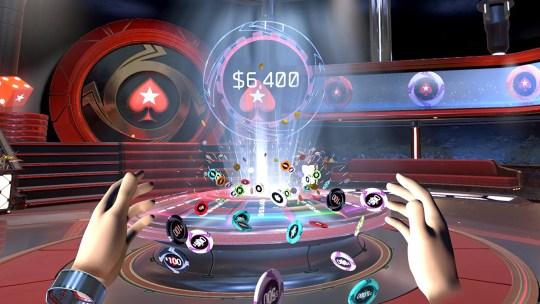Vive Pokerstars VR The Spinner 540x304 - PokerStars previews Virtual Reality Poker @PokerStars #VR #virtualreality