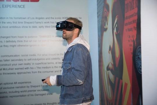559A1222 540x360 - Feature: DAMAGED App interview with Shepard Fairey and Jacob Koo of VRt Ventures by Jonn Nubian @ObeyGiant @VRtMuseums #virtualreality #shepardfairey #VRtVentures #DamagedApp