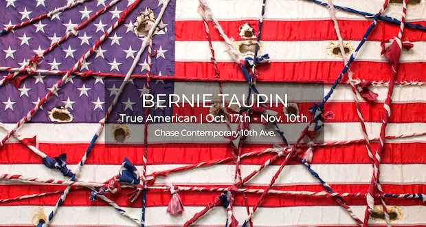 BT - Bernie Taupin - True American Exhibition October 17-November 10, 2018 #ChaseContemporary #BernieTaupin @workhousepr