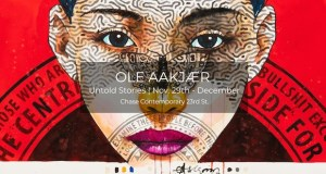 oleh - Ole Aakjaer Untold Stories exhibition November 29 - December 31, 2018 #ChaseContemporary #OleAakjaer @workhousepr