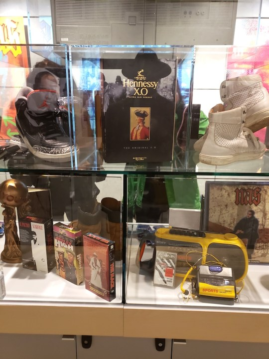 20190418 212401 540x720 - Nas presents Illmatic XXV: Memory Lane in NYC pop-up in honor of album's 25th anniversary @nas @sonysquarenyc @HennessyUS #illmaticxxv