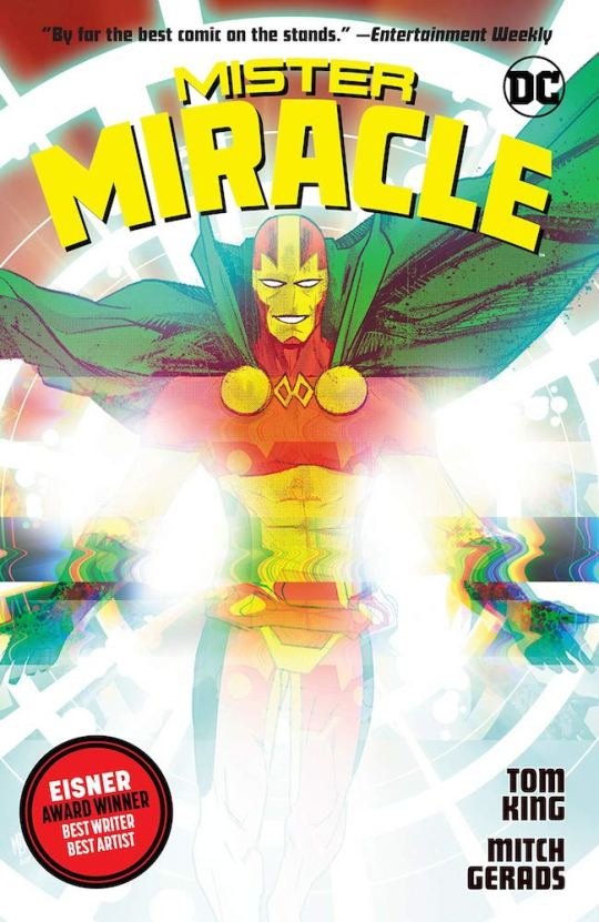 mm1 540x831 - Mister Miracle TPB by Tom King and Mitch Gerads @TomKingTK @MitchGerads @DCComics #MisterMiracle