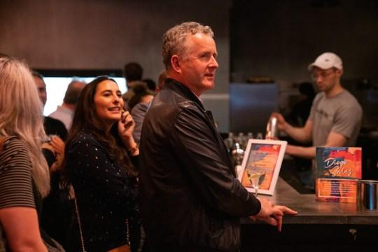 102 DSC01911 Paul Duffy CEO Pernod Ricard North America 540x360 - Event Recap: Pernod Ricard Art Battle @ournewyorkvodka @PernodricardUSA @NapkinKilla