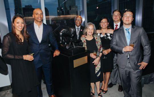 5.15.19 KadirNelson theMAJOR 101 540x340 - World Trade Center Unveils First Public Artwork by Artist Kadir Nelson x Hennessy @KadirNelson @OneWTC @HennessyUS #MarshallMajorTaylor