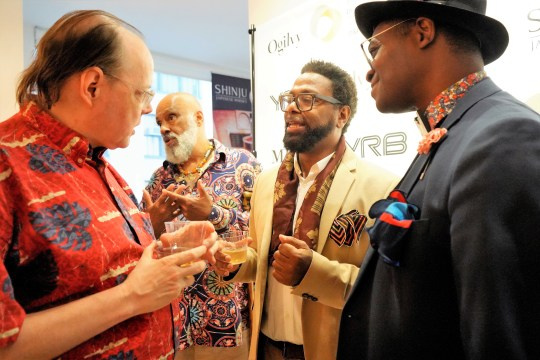 photos by Stella Magloire 101 540x360 - Event Recap: Danny Simmons Alone Together Private Reception at George Billis Gallery @ogilvy @rush_art @miolowinegroup_ #ShinjuWhisky #AloneTogether