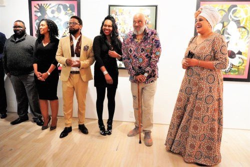 photos by Stella Magloire 201 - Event Recap: Danny Simmons Alone Together Private Reception at George Billis Gallery @ogilvy @rush_art @miolowinegroup_ #ShinjuWhisky #AloneTogether