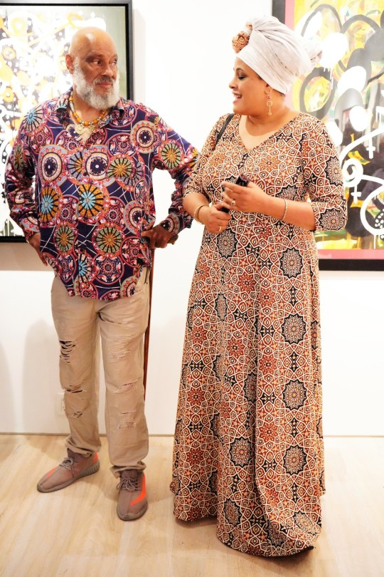 photos by Stella Magloire 203 540x810 - Event Recap: Danny Simmons Alone Together Private Reception at George Billis Gallery @ogilvy @rush_art @miolowinegroup_ #ShinjuWhisky #AloneTogether