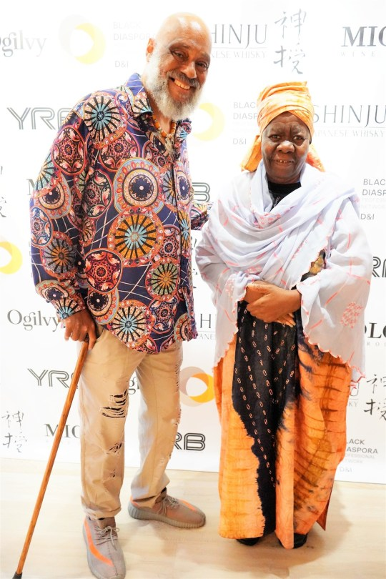 photos by Stella Magloire 23 540x810 - Event Recap: Danny Simmons Alone Together Private Reception at George Billis Gallery @ogilvy @rush_art @miolowinegroup_ #ShinjuWhisky #AloneTogether