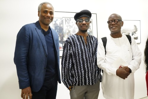 photos by Stella Magloire 247 - Event Recap: Danny Simmons Alone Together Private Reception at George Billis Gallery @ogilvy @rush_art @miolowinegroup_ #ShinjuWhisky #AloneTogether