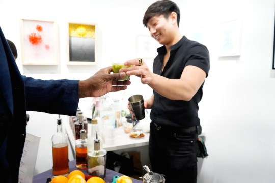 photos by Stella Magloire 259 540x360 - Event Recap: Danny Simmons Alone Together Private Reception at George Billis Gallery @ogilvy @rush_art @miolowinegroup_ #ShinjuWhisky #AloneTogether