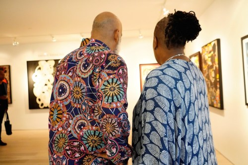 photos by Stella Magloire 26 - Event Recap: Danny Simmons Alone Together Private Reception at George Billis Gallery @ogilvy @rush_art @miolowinegroup_ #ShinjuWhisky #AloneTogether