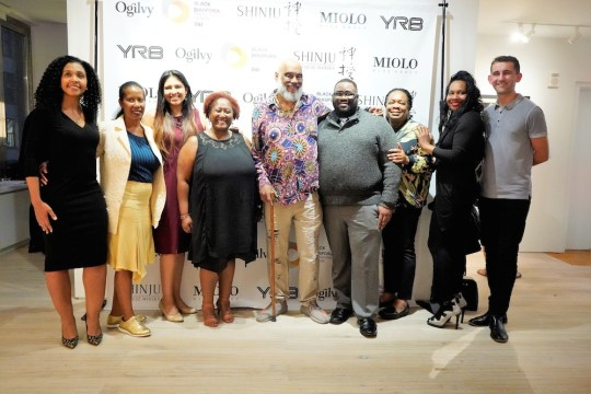 photos by Stella Magloire 284 1 540x360 - Event Recap: Danny Simmons Alone Together Private Reception at George Billis Gallery @ogilvy @rush_art @miolowinegroup_ #ShinjuWhisky #AloneTogether