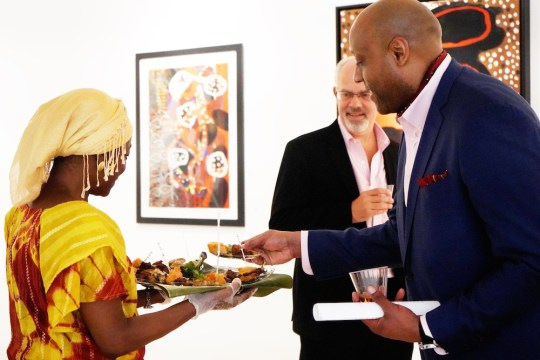 photos by Stella Magloire 4 540x360 - Event Recap: Danny Simmons Alone Together Private Reception at George Billis Gallery @ogilvy @rush_art @miolowinegroup_ #ShinjuWhisky #AloneTogether