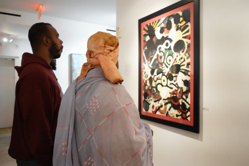 photos by Stella Magloire 45 1 - Event Recap: Danny Simmons Alone Together Private Reception at George Billis Gallery @ogilvy @rush_art @miolowinegroup_ #ShinjuWhisky #AloneTogether