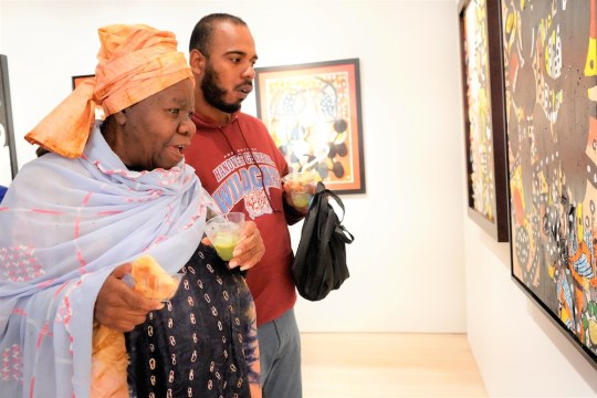 photos by Stella Magloire 51 540x360 - Event Recap: Danny Simmons Alone Together Private Reception at George Billis Gallery @ogilvy @rush_art @miolowinegroup_ #ShinjuWhisky #AloneTogether